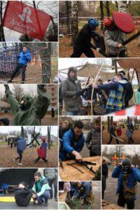 Военно-исторический турнир Богатырская зарница 1 ноября 2016 года