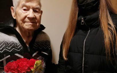 Отряд «Оптик» поздравляет жителей блокадного Ленинграда