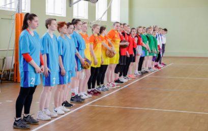 Городские соревнования по стритболу (девушки)