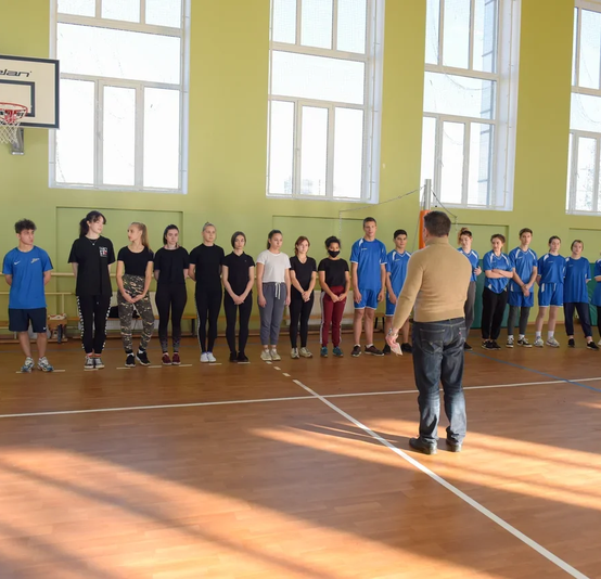 Первый этап соревнований «Юность России»