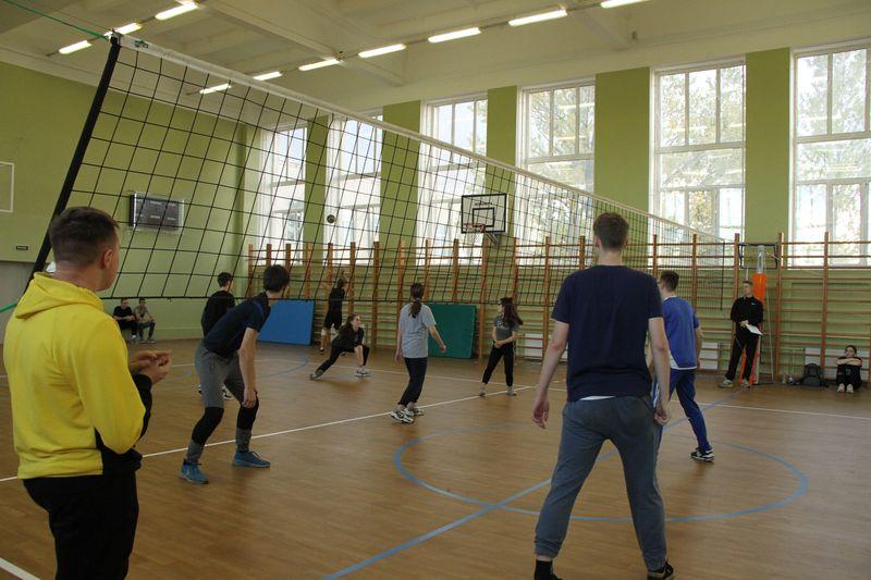 Лицейский турнир по волейболу «Золотая осень»