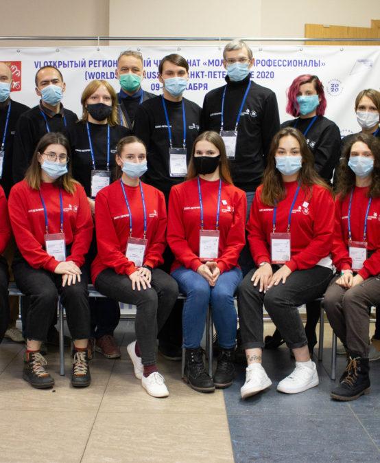 В Оптико-механическом лицее завершились соревнования WorldSkills Russia
