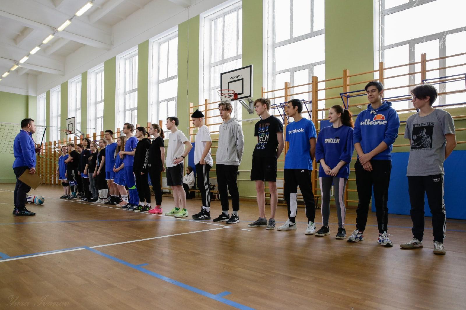 Турнир по волейболу «Русская зима»