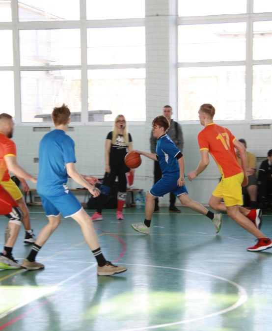 Городские соревнования по стритболу