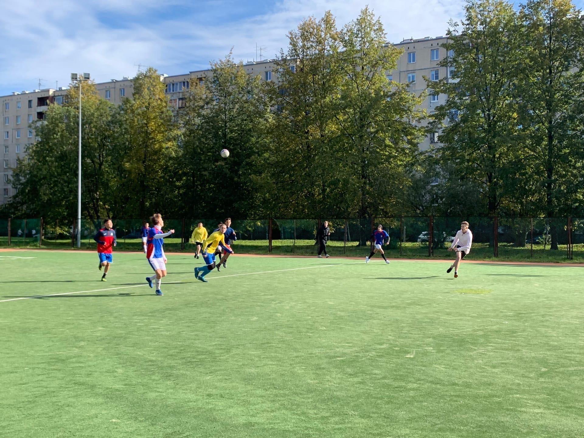 Ежегодные городские соревнования по футболу